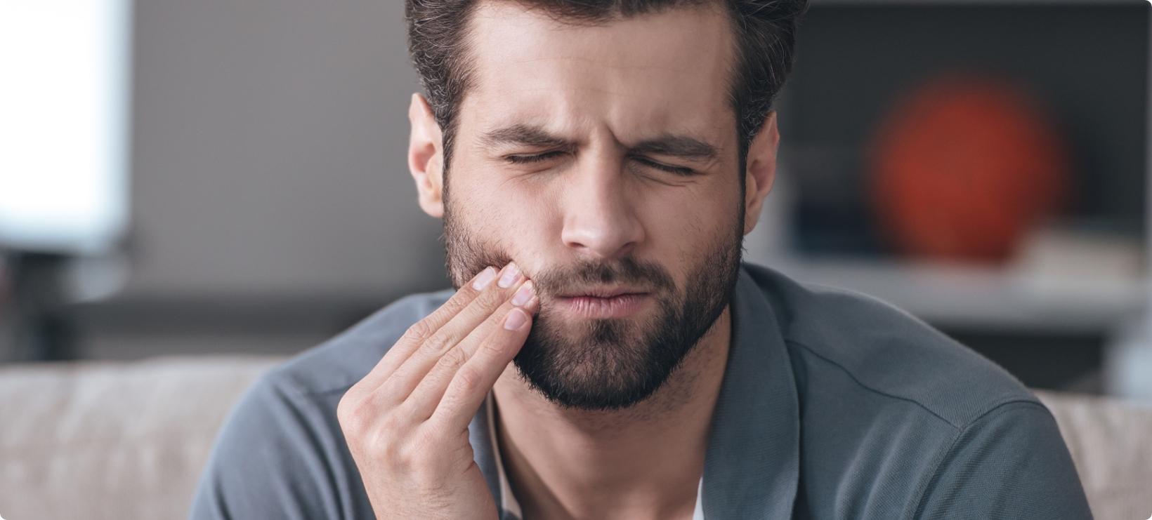 Les douleurs dentaires fortes et intenses